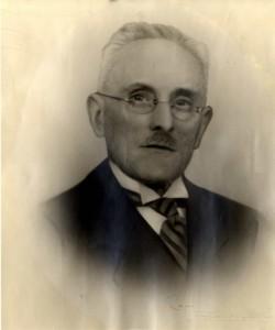 De eerste voorzitter van Oud Soetermeer: H. Nieuwenhuijsen (Collectie Historisch Genootschap Oud Soetermeer)